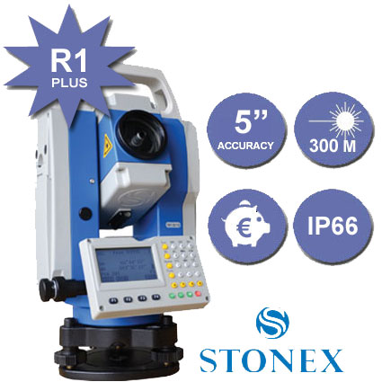 stazione totale stonex R1 plus